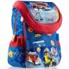 Plecak tornister niebieski strażacy dla chłopca PLAYMOBIL City Action do 1 klasy PL-02
