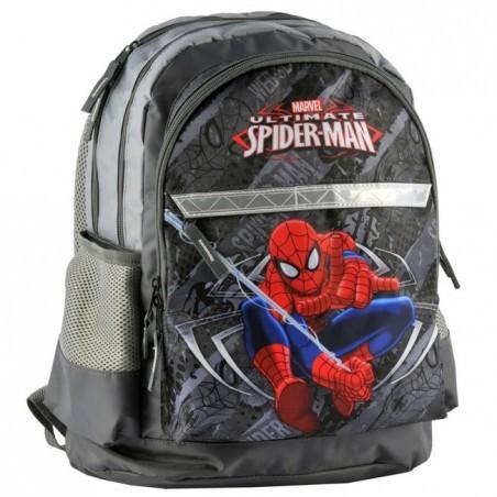 Plecak szkolny Spider-Man szary