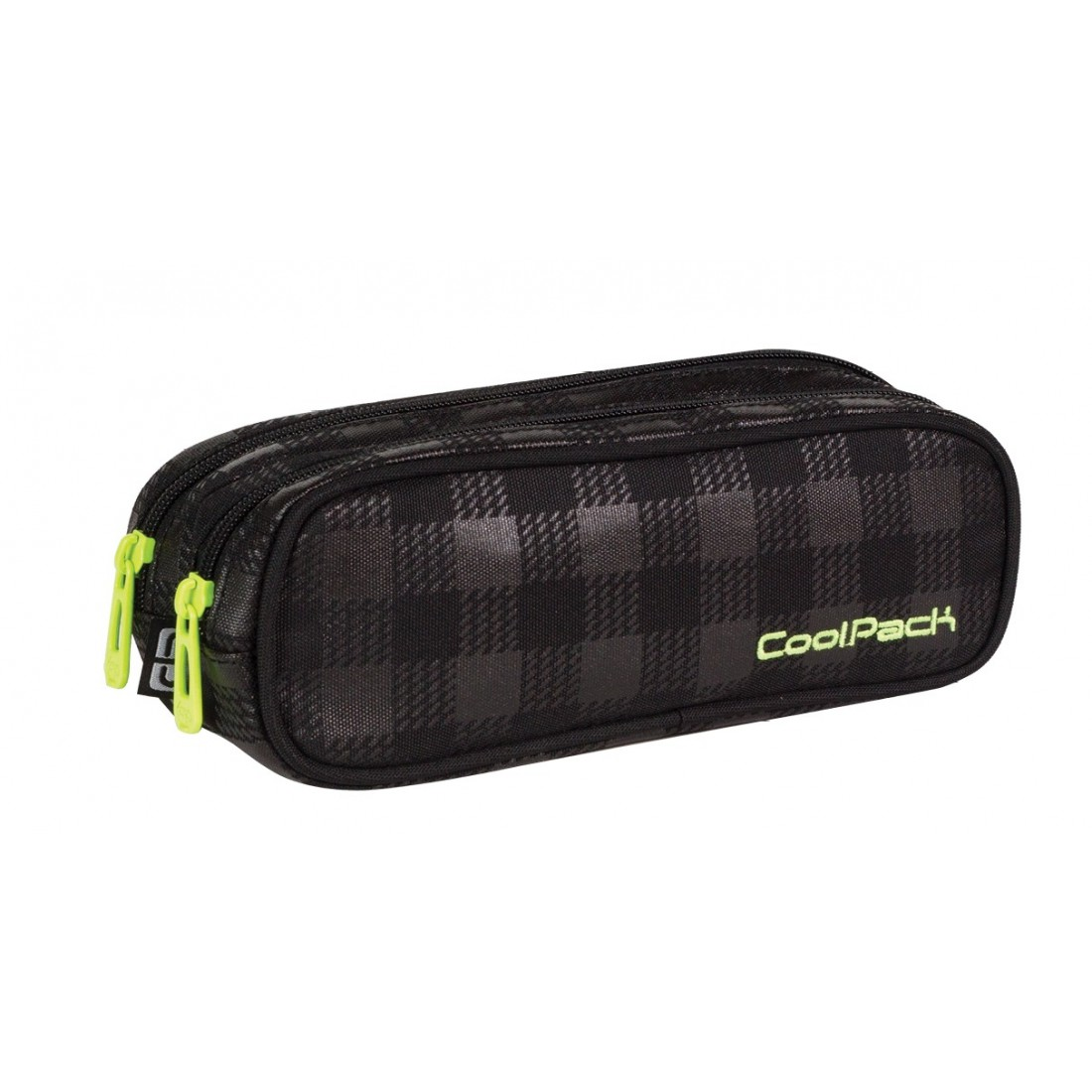 Saszetka podwójna CoolPack CLEVER BLACK & YELLOW CP 420