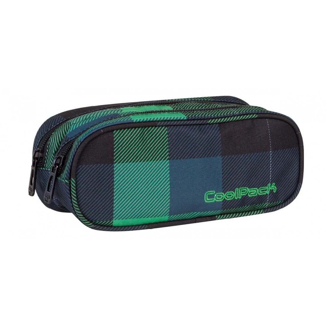 Saszetka podwójna CoolPack CLEVER OXFORD CP 495 - plecak-tornister.pl
