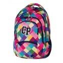 Plecak młodzieżowy CoolPack CP pastelowe kolory w kratkę - 5 przegród COLLEGE PATCHWORK 476