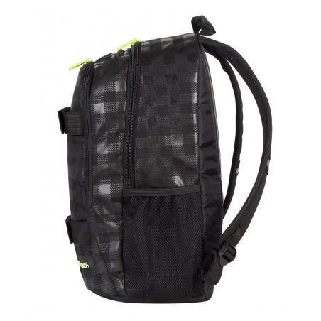 Plecak młodzieżowy CoolPack ACTION 2 przegrody BLACK & YELLOW CP 413