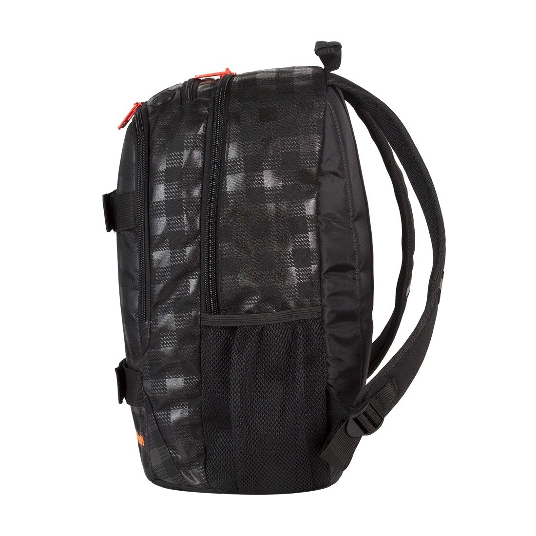 Plecak młodzieżowy CoolPack ACTION 2 przegrody BLACK & ORANGE CP 423 - plecak-tornister.pl