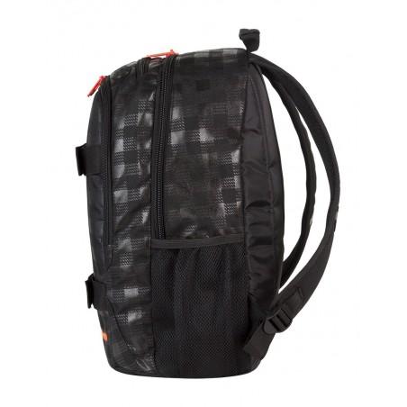 Plecak młodzieżowy CoolPack ACTION 2 przegrody BLACK & ORANGE CP 423