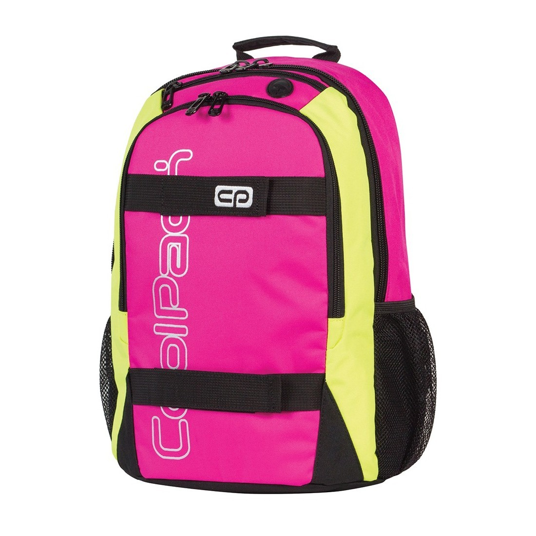 Plecak młodzieżowy CoolPack ACTION 2 przegrody PINK NEON CP 431 - plecak-tornister.pl