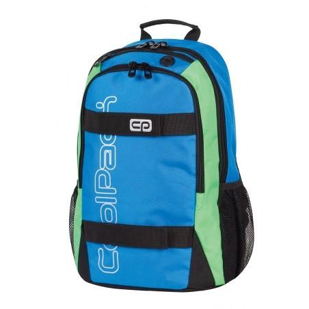 Plecak młodzieżowy CoolPack ACTION 2 przegrody BLUE NEON CP 429