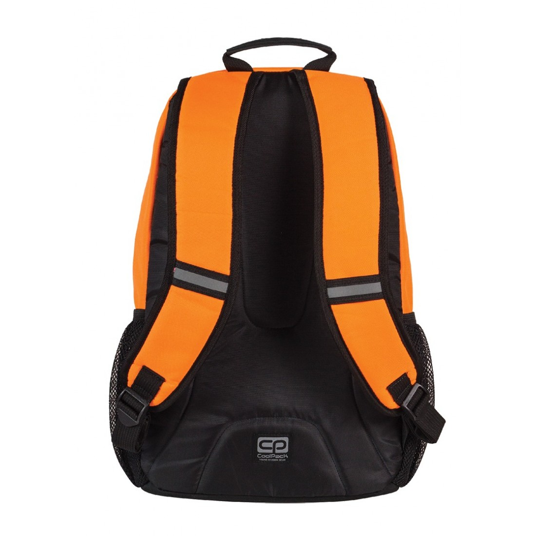 Plecak młodzieżowy CoolPack ACTION 2 przegrody ORANGE NEON CP 430 - plecak-tornister.pl
