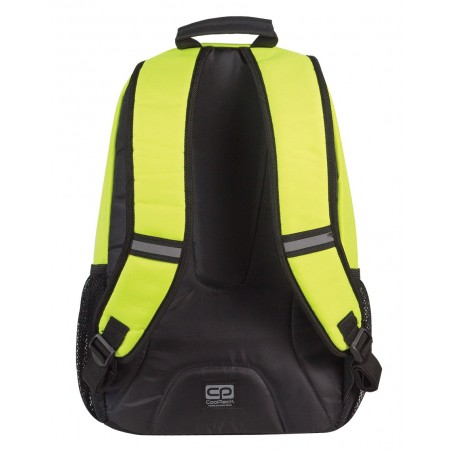 Plecak młodzieżowy CoolPack ACTION 2 przegrody YELLOW NEON CP 432