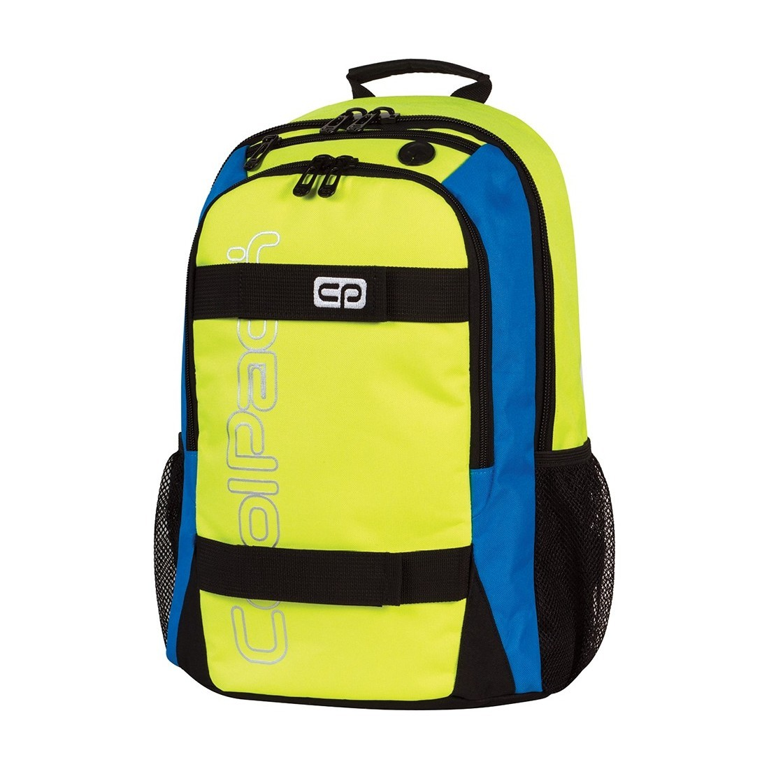 Plecak młodzieżowy CoolPack ACTION 2 przegrody YELLOW NEON CP 432 - plecak-tornister.pl