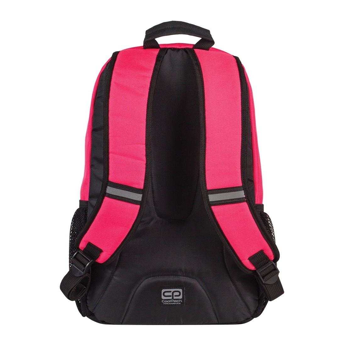Plecak młodzieżowy CoolPack ACTION 2 przegrody RUBIN NEON CP 428 - plecak-tornister.pl