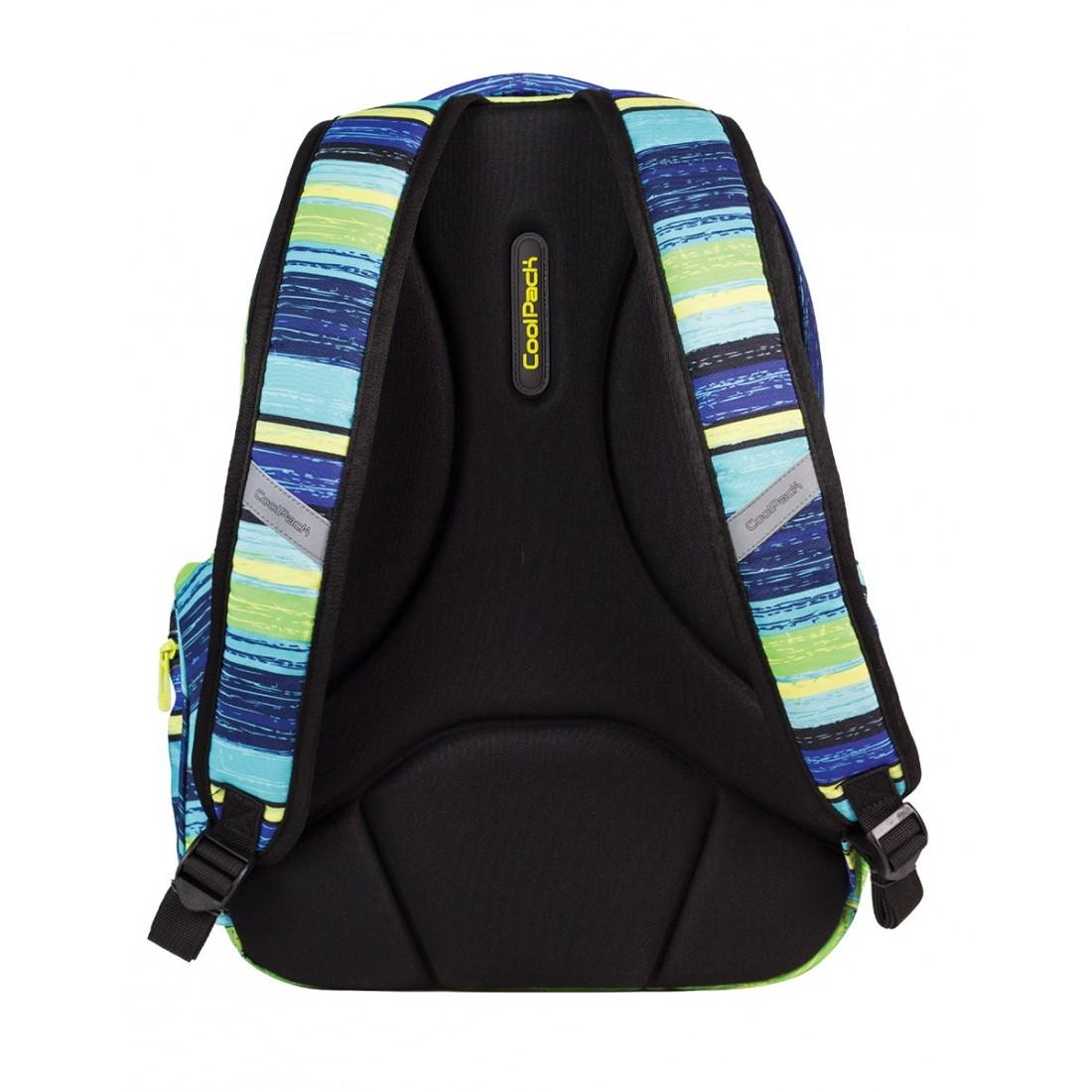 Plecak młodzieżowy CoolPack JOY 3 przegrody BLUE LAGOON CP 530