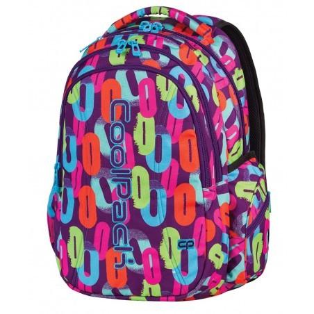 Plecak młodzieżowy CoolPack JOY 3 przegrody MULTICOLOR CP 546