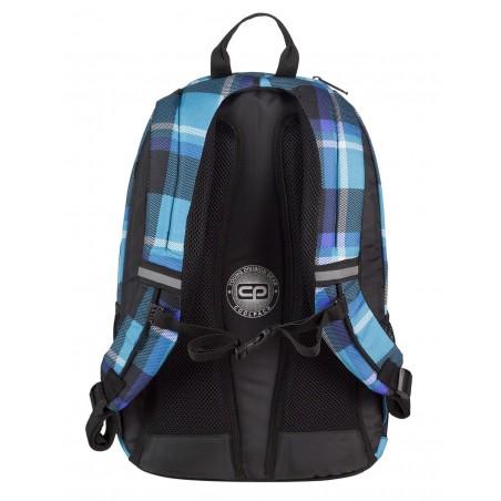 Plecak młodzieżowy CoolPack CP niebieski w kratkę URBAN SCOTT 386
