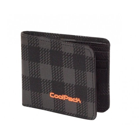 PORTFEL COOLPACK CP PATRON BLACK & ORANGE 427