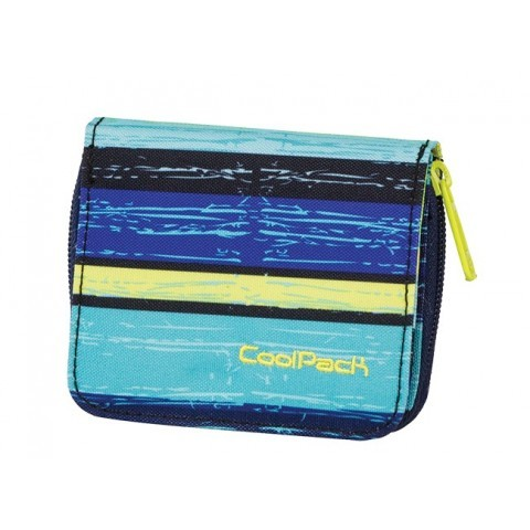PORTFEL COOLPACK CP HAZEL BLUE LAGOON 535
