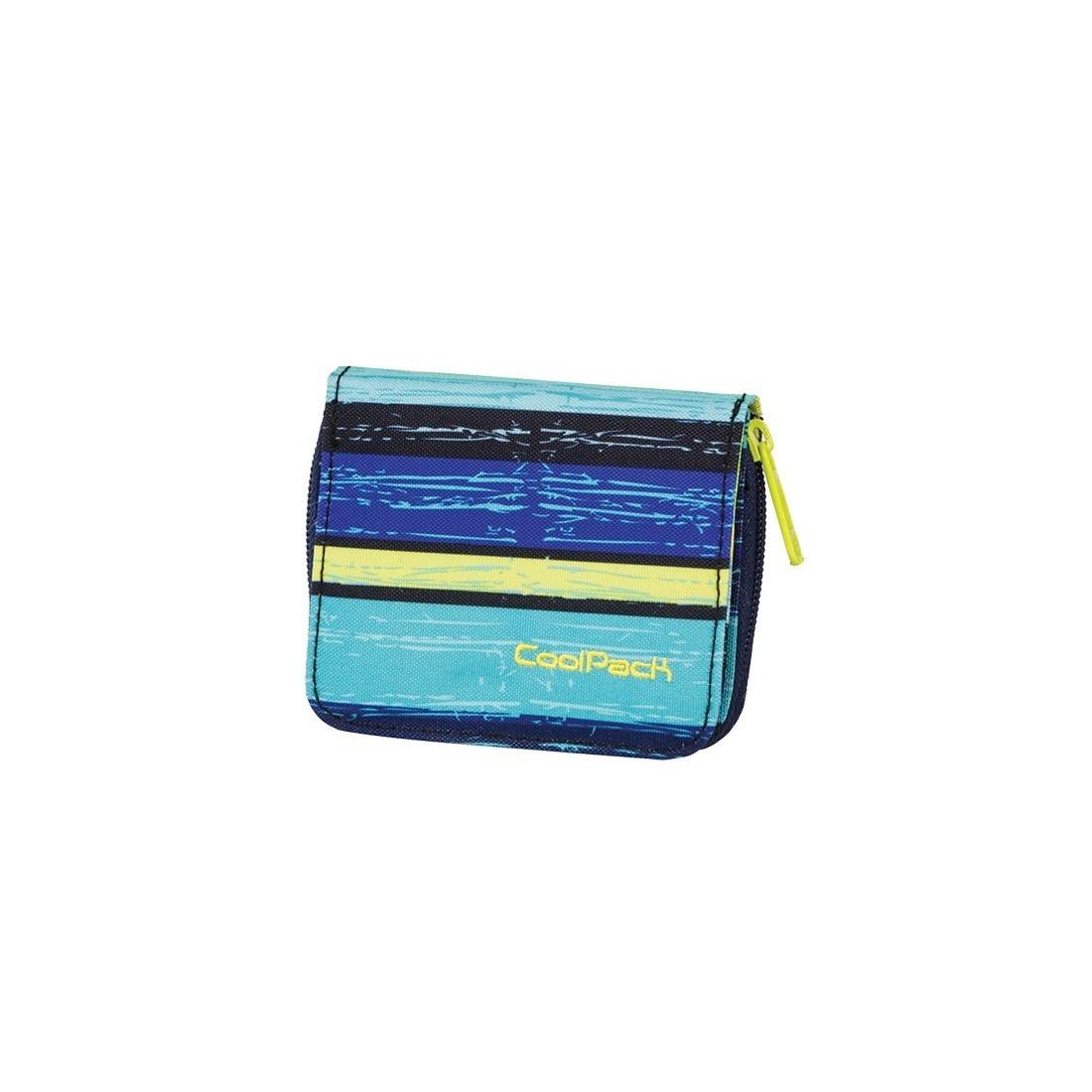 PORTFEL COOLPACK CP HAZEL BLUE LAGOON 535 - plecak-tornister.pl