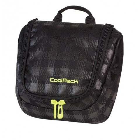 KOSMETYCZKA COOLPACK CP TRAVEL BLACK & YELLOW 418