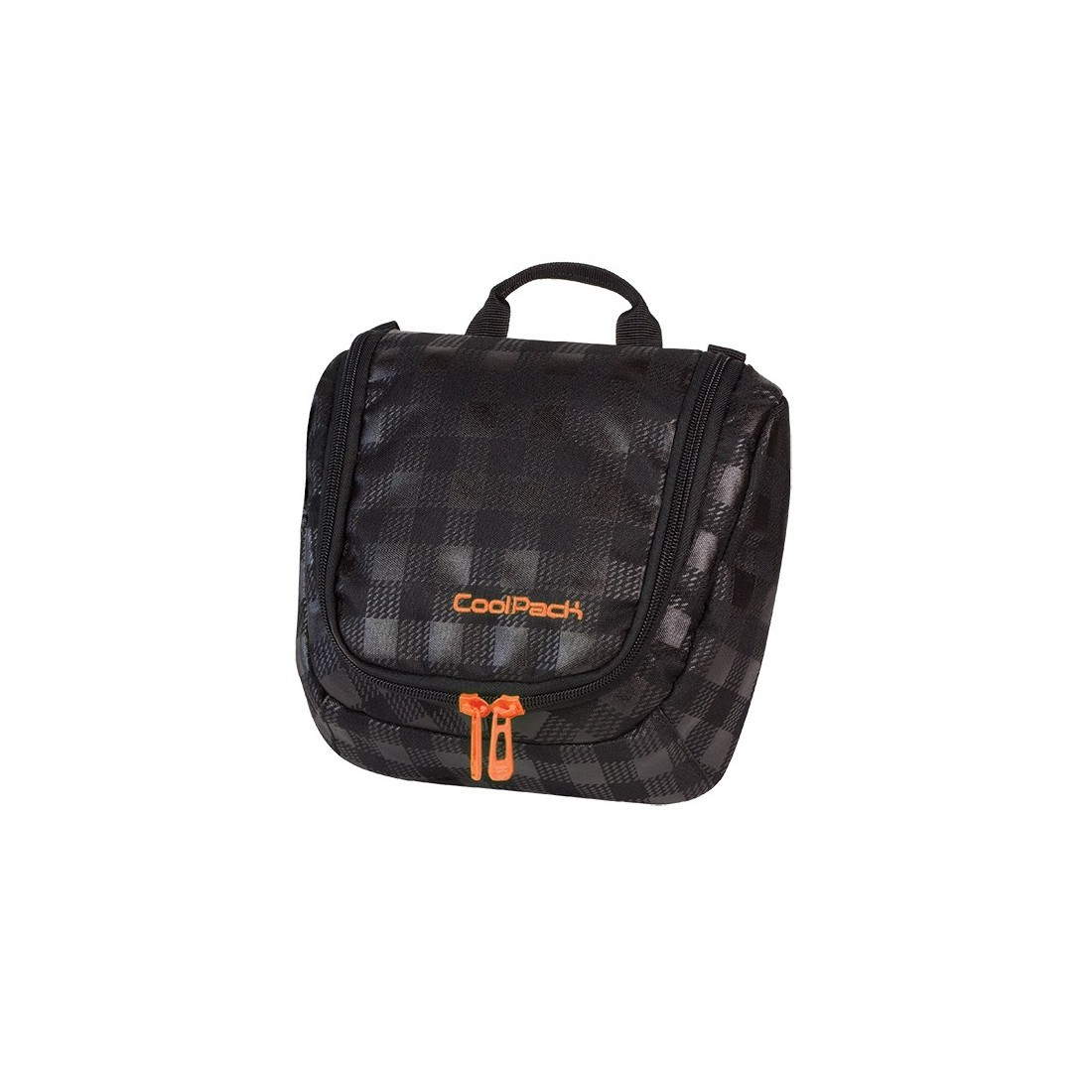 KOSMETYCZKA COOLPACK CP TRAVEL BLACK & ORANGE 424