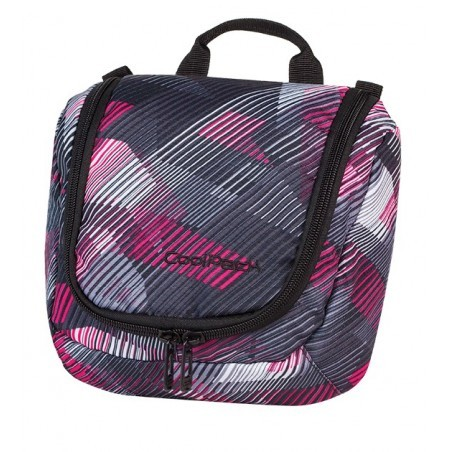 KOSMETYCZKA COOLPACK CP TRAVEL PINK MOTION 382