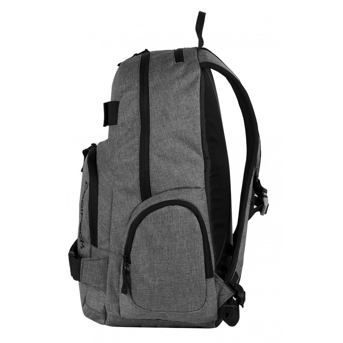 Plecak młodzieżowy na laptop CoolPack CP szary EXTREME SNOW GREY 592 - plecak-tornister.pl
