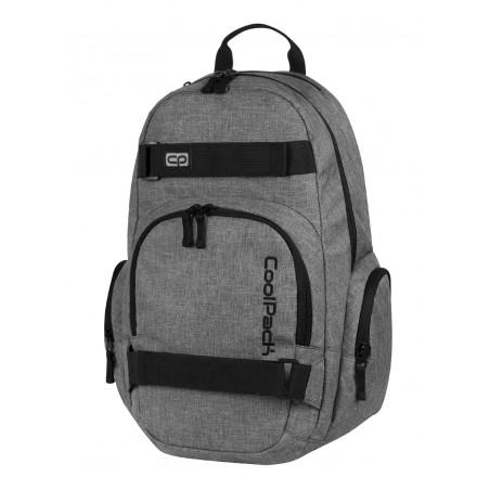 Plecak młodzieżowy na laptop CoolPack CP szary EXTREME SNOW GREY 592