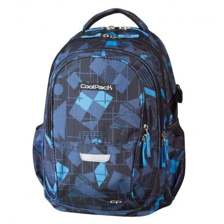 Plecak młodzieżowy CoolPack CP - 4 przegrody FACTOR GEOMETRIC 444