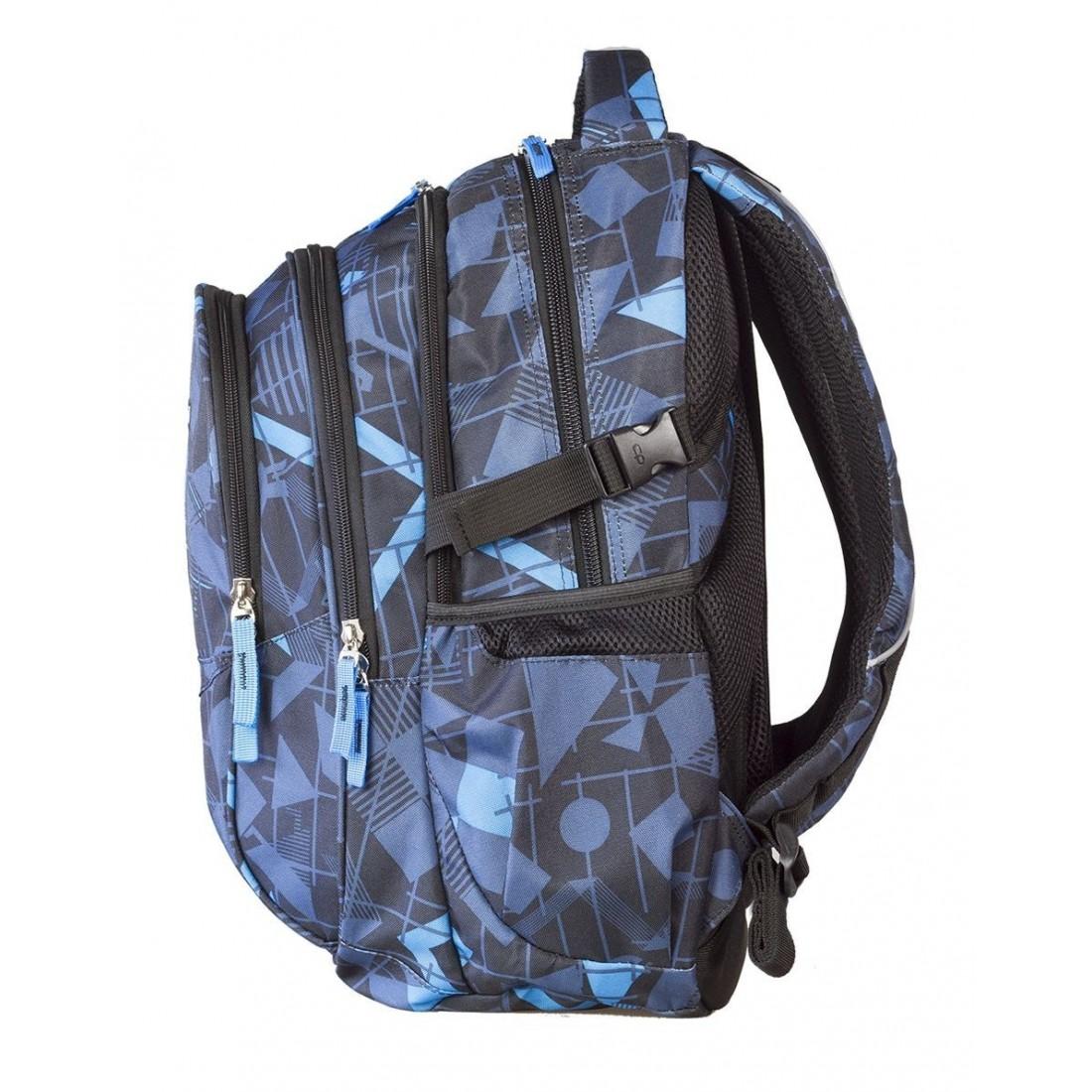 Plecak młodzieżowy CoolPack CP - 4 przegrody FACTOR GEOMETRIC 444 - plecak-tornister.pl