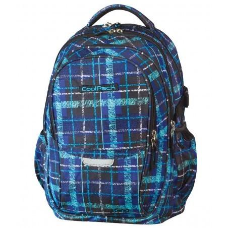 Plecak młodzieżowy CoolPack CP - 4 przegrody FACTOR SCRATCH CHECK 445