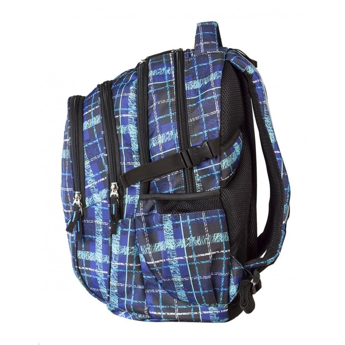 Plecak młodzieżowy CoolPack CP - 4 przegrody FACTOR SCRATCH CHECK 445 - plecak-tornister.pl