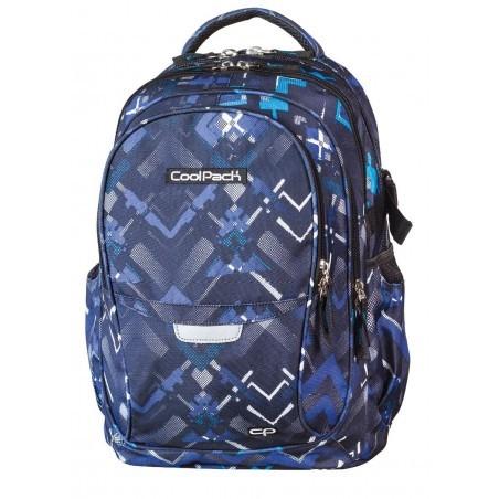 Plecak młodzieżowy CoolPack CP - 4 przegrody FACTOR DARTS 447