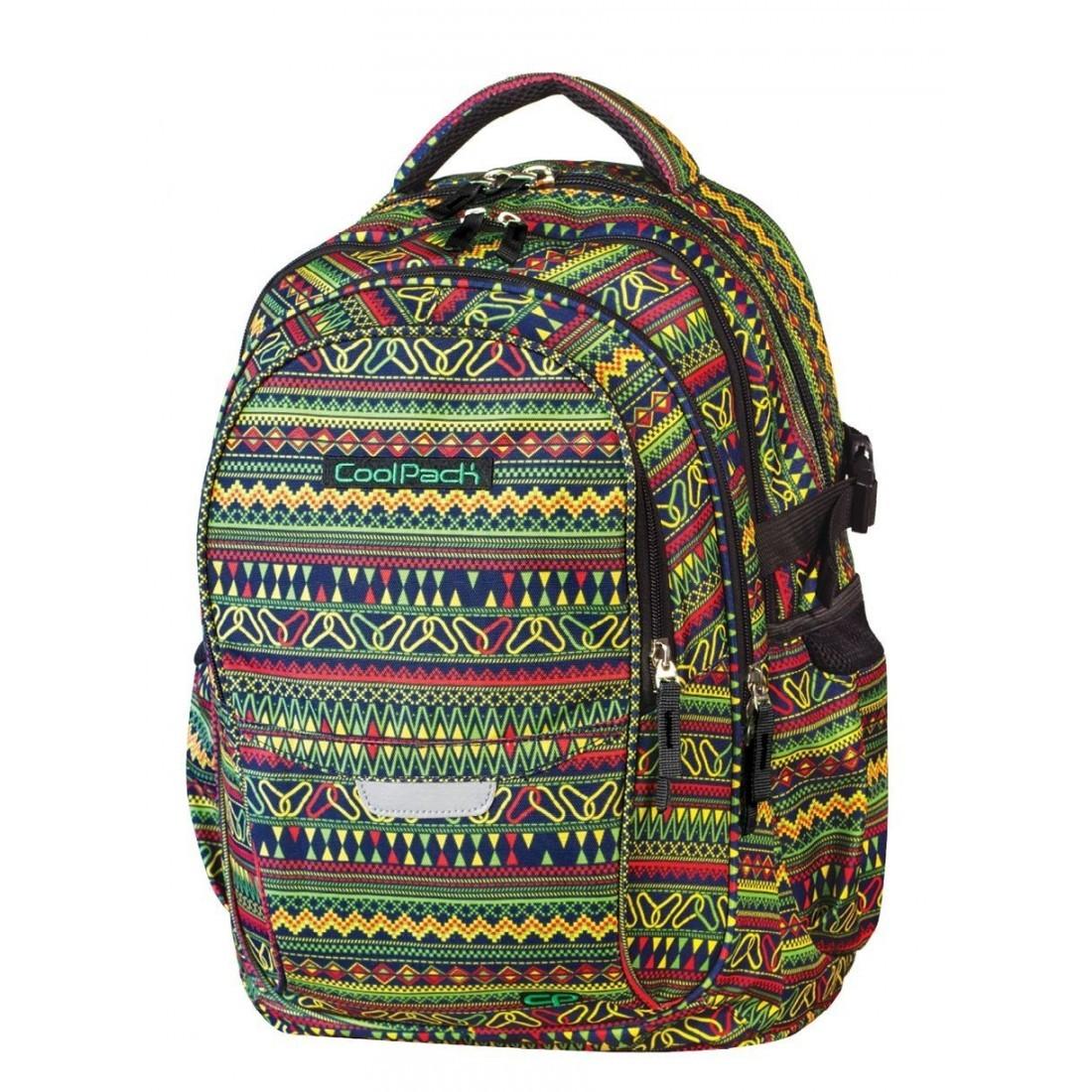 Plecak młodzieżowy CoolPack CP - 4 przegrody FACTOR BOHO 435 - plecak-tornister.pl