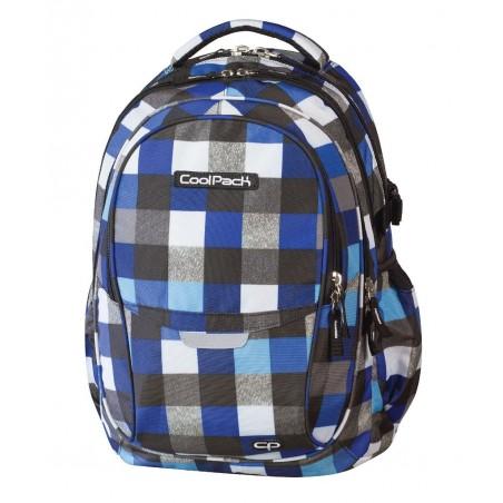 Plecak młodzieżowy CoolPack CP - 4 przegrody FACTOR BLUE SQUARED 446