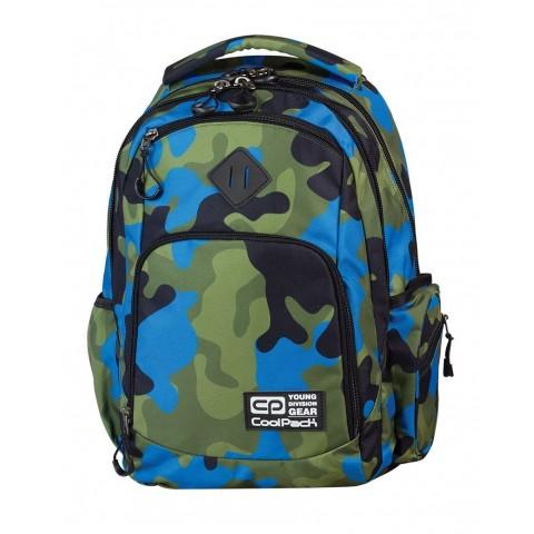 Plecak młodzieżowy COOLPACK BREAK MORO BLUE CP 598