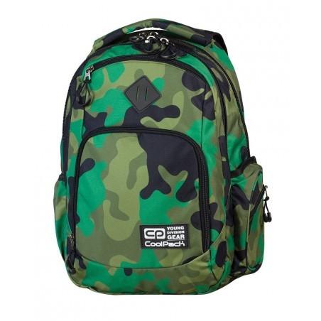 Plecak młodzieżowy COOLPACK BREAK MORO GREEN CP 599