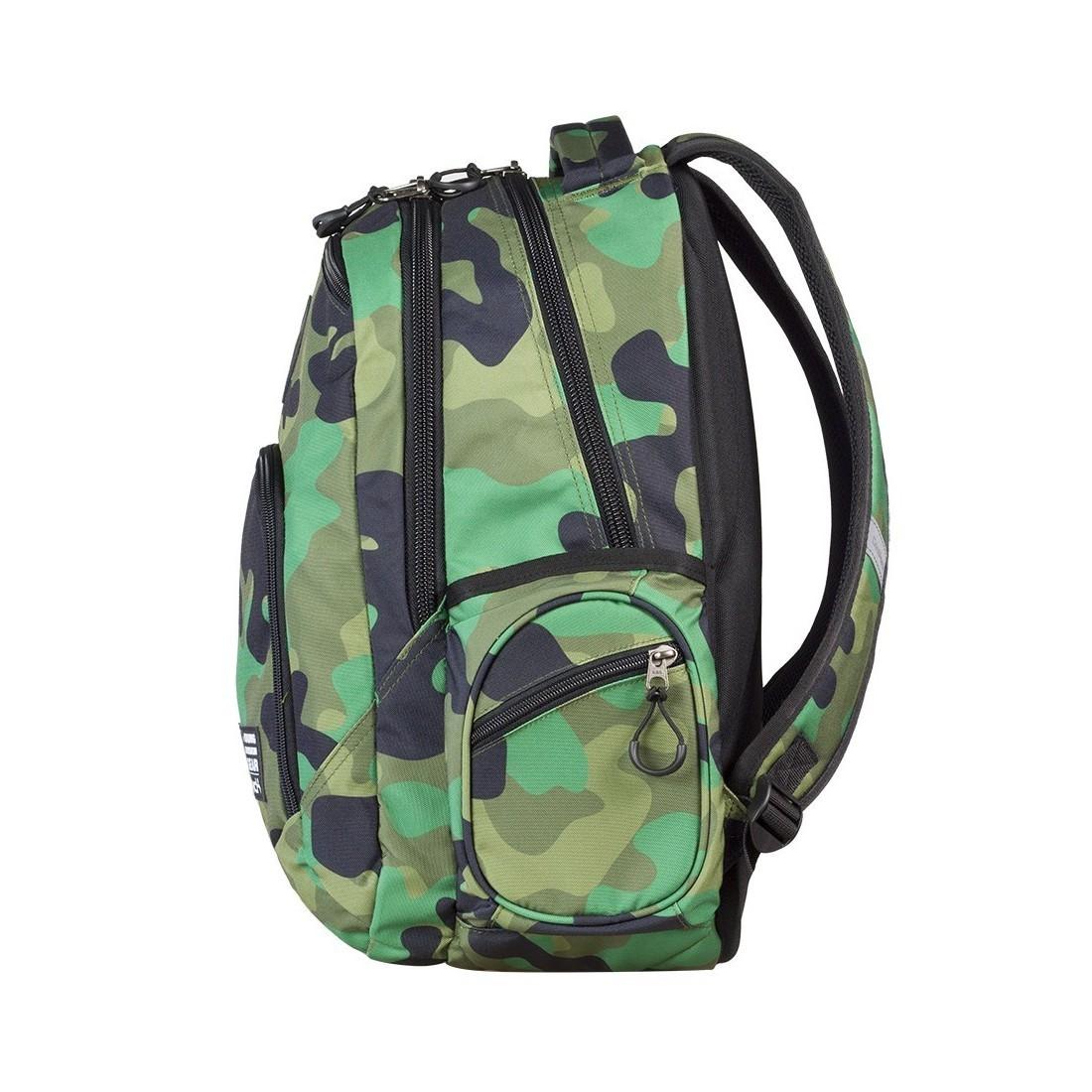 Plecak młodzieżowy COOLPACK BREAK MORO GREEN CP 599 - plecak-tornister.pl