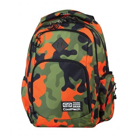 Plecak młodzieżowy COOLPACK BREAK MORO ORANGE CP 601