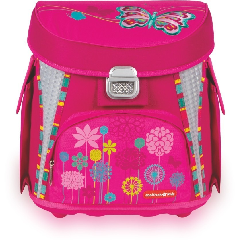 1aee7159d2c22 TORNISTER COOLPACK CP BUTTERFLY - RÓŻOWY Z MOTYLEM