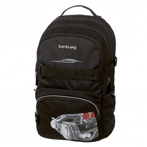 PLECAK HERLITZ BE.BAG CUBE GRID CAR
