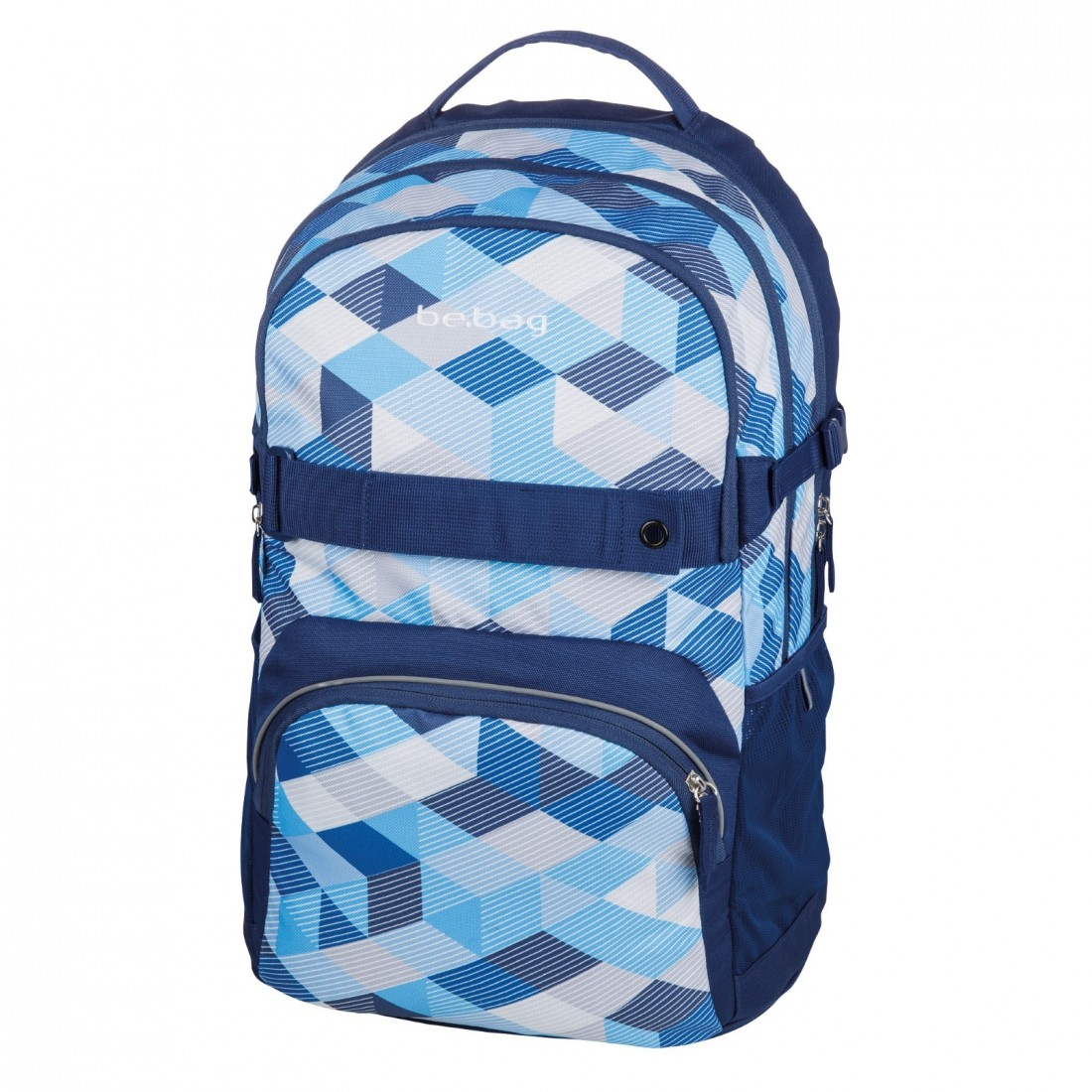 PLECAK HERLITZ BE.BAG CUBE BLUE CHECKED