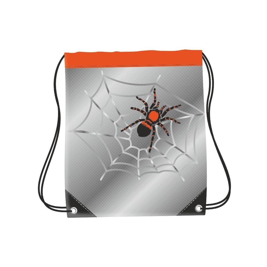 WOREK NA BUTY COOLPACK CP SPIDER SZARY Z PAJĄKIEM - plecak-tornister.pl