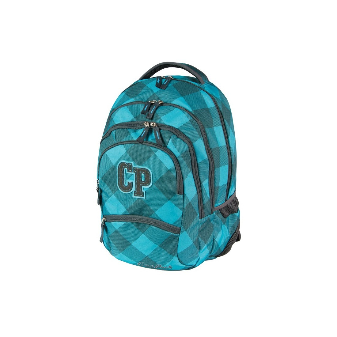 PLECAK MŁODZIEŻOWY COOLPACK COLLEGE TURQUISE CP 021 - plecak-tornister.pl
