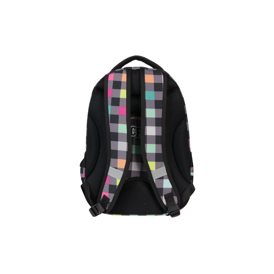 PLECAK MŁODZIEŻOWY COOLPACK COLLEGE PASTEL CHECK CP 121 - plecak-tornister.pl