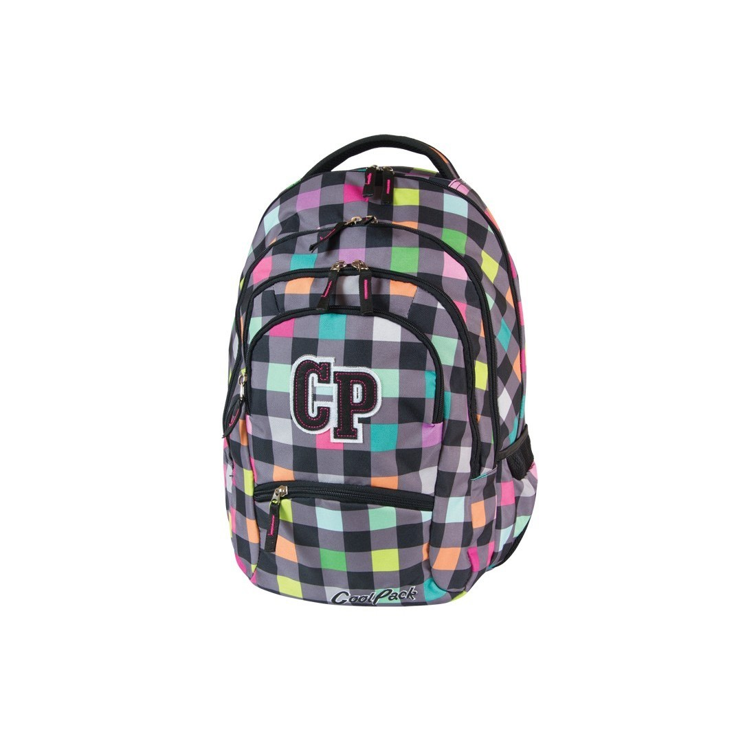 PLECAK MŁODZIEŻOWY COOLPACK COLLEGE PASTEL CHECK CP 121