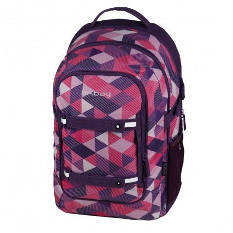 PLECAK HERLITZ BE.BAG BEAT PURPLE CHECKED