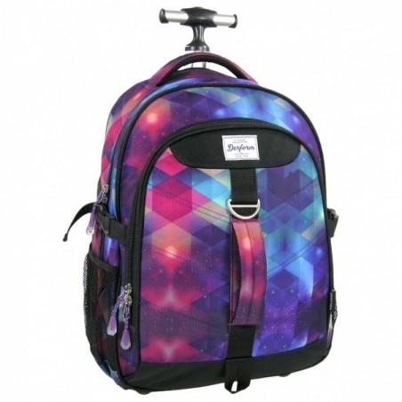 Plecak młodzieżowy na kółkach Galaxy