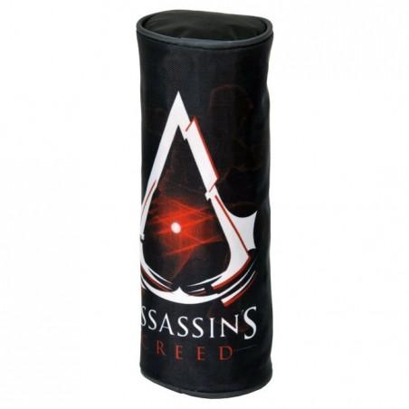 Piórnik tuba Assassin's czarny
