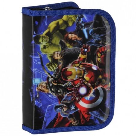 Piórnik z wyposażeniem Avengers granatowy