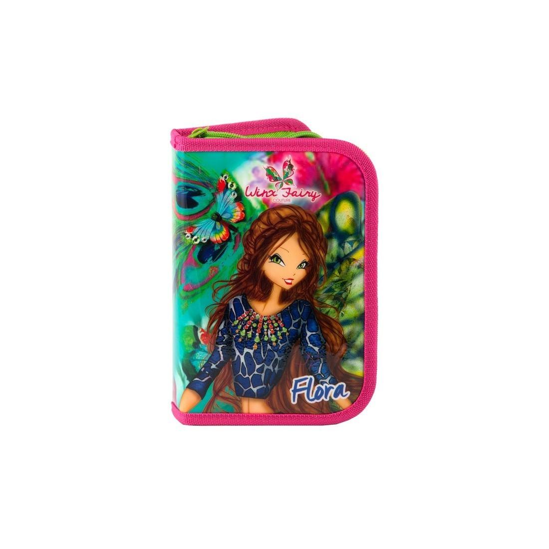 Piórnik z wyposażeniem Winx Fairy Couture - plecak-tornister.pl