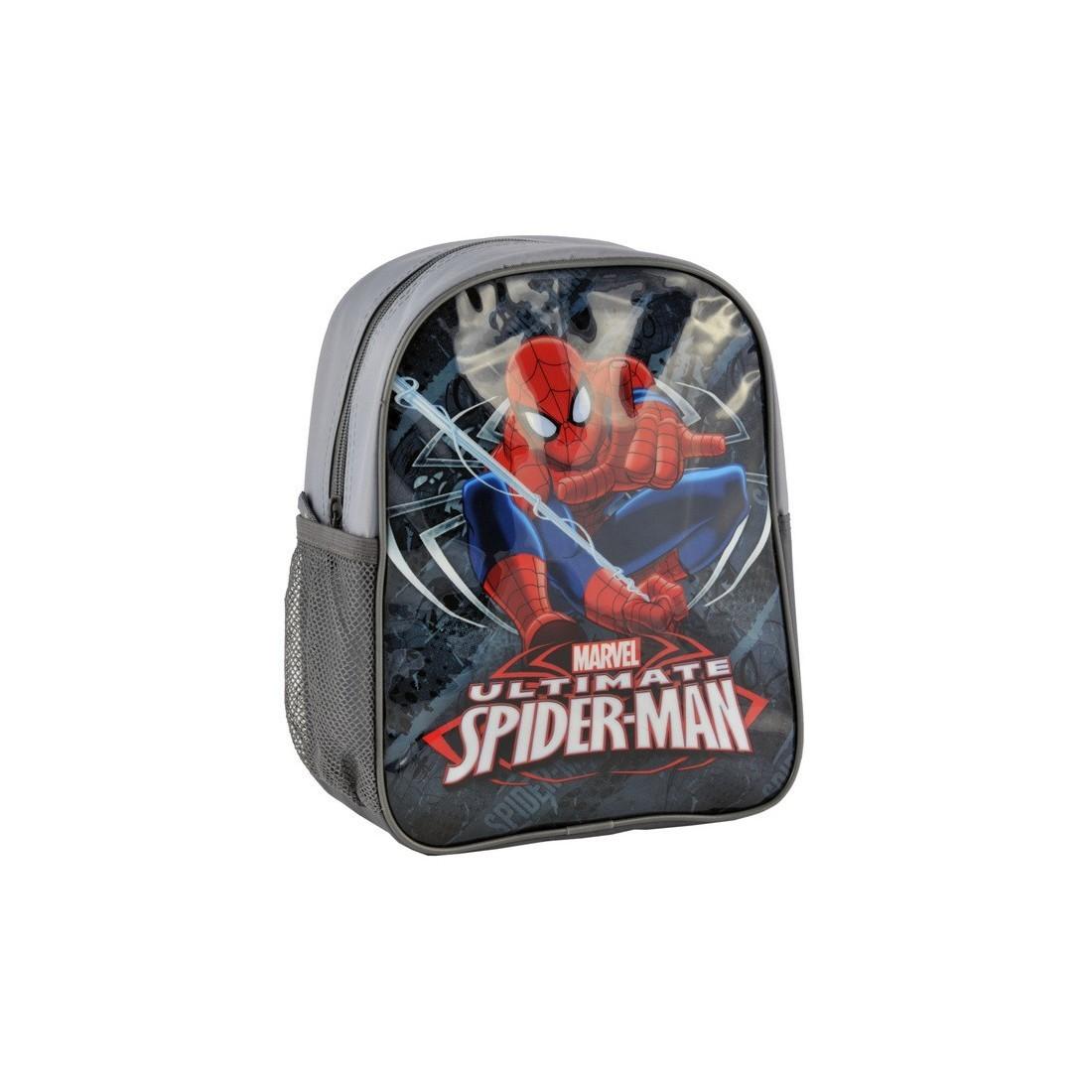 Plecaczek Spider-Man szary - plecak-tornister.pl