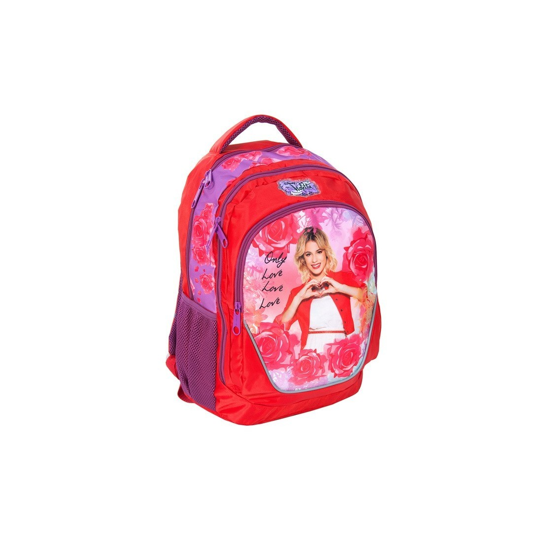 Plecak szkolny Violetta - plecak-tornister.pl